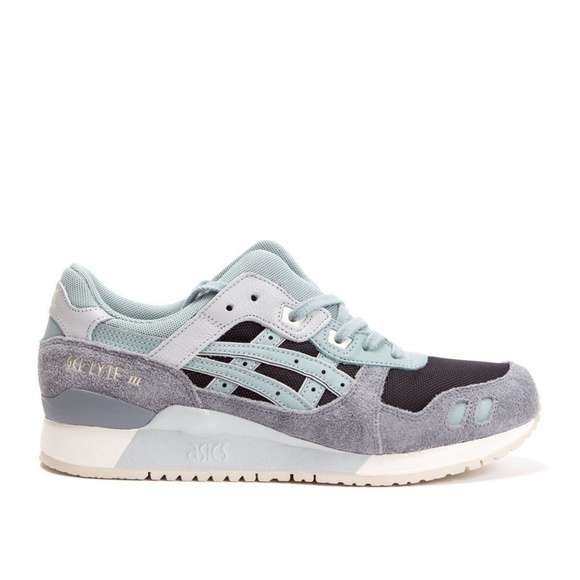 new products 50662 01bd3 Asics Tiger Gel Lyte III 3 Black Blue RunninG